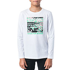 Лонгслив Rip Curl Multi Truck Optical White