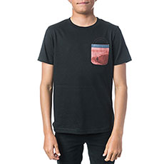 Футболка детская Rip Curl Pocket Printed Black