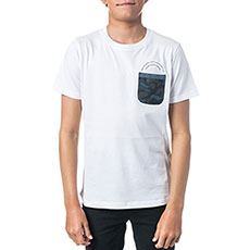 Футболка Rip Curl Pocket Printed Optical White