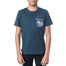 Футболка Rip Curl Pocket Printed Midnight Navy