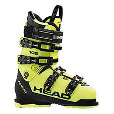 Лыжные ботинки Head Advant Edge 105 Yellow/Black