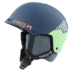Шлем для сноуборда Shred Half Brain D-lux Needmoresnow Navy Blue/Green