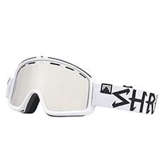 Маска для сноуборда Shred Monocle Bleach Platinum White