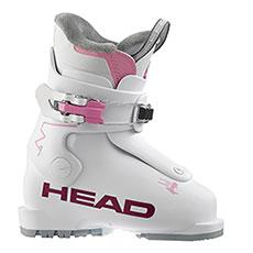 Лыжные ботинки детские Head Z1 White-pink