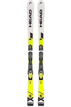 Горные лыжи Head Wc Rebels Igsr Ab Pr + Pr 11 Gw Brake 78 White/Neon Yellow