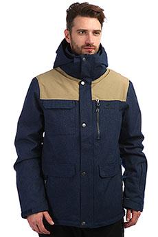 Куртка утепленная Rip Curl Cabin Dress Blue