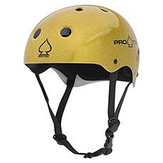 Шлем для скейтборда Pro-Tec Classic Skate Gold Flake