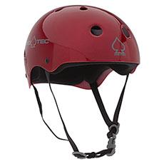 Шлем для скейтборда Pro-Tec Classic Skate Red Metal Flake