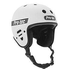 Шлем для сноуборда Pro-Tec Full Cut Certified Snow Matte White