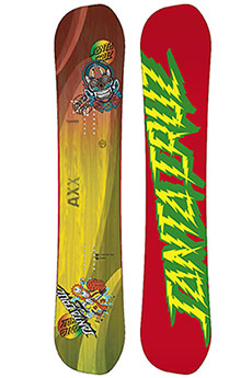 Сноуборд Santa Cruz Asymetric Axx Decal 2018