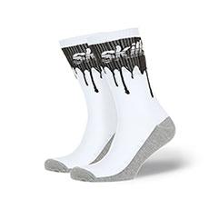 Носки Skills Нефть Бело-черный