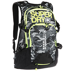 Рюкзак туристический SuperDry Sport Ultimate Snow Rescue 20 L Pack Textured Camo/Rescue Yellow