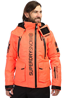 Куртка SuperDry Sport Ultimate Snow Rescue Jacket Hyper Orange