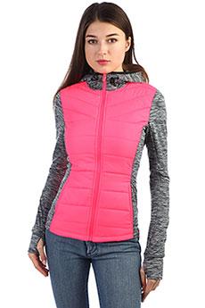 Толстовка сноубордическая женская SuperDry Sport Active Hybrid Fusion pink