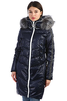 Пуховик женский SuperDry Sport Sd Glacier Isobar Down Iso Blue