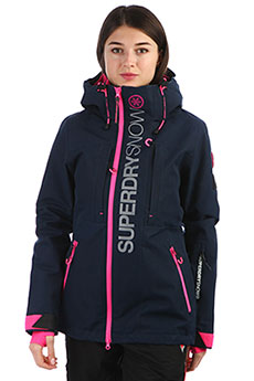 Куртка женская SuperDry Sport Sd Multi Wax Navy