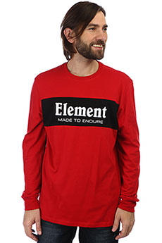 Лонгслив Element Primary Ls Pompeian Red