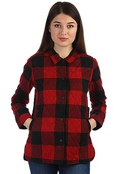 Рубашка в клетку женская Element Like Its Hot Pompeian Red