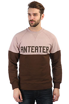 Толстовка свитшот Anteater Crewneck pink_anteater