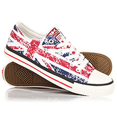 Кеды низкие British Knights Master Lo Union Jack - Textile