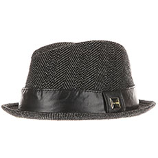 Шляпа Globe Nicks Fedora Herringbone