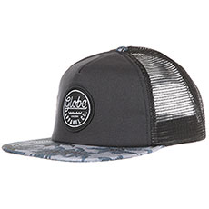 Бейсболка с сеткой Globe Expedition Trucker Snap Back Nep/Blue Palms
