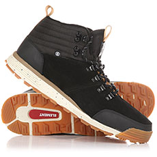Ботинки высокие Element Donnelly Real Light Black Gum