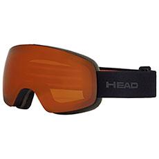 Маска для сноуборда Head Globe Tvt + Pola Black/Orange