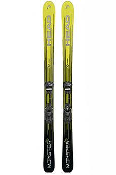 Лыжи горные Head Monster 98 Ti Sw 177 Black/Neon Yellow