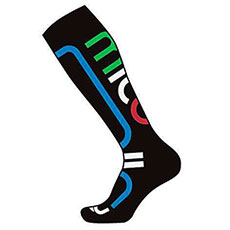 Носки Mico Performance Snowboard Socks In Thermolite 461nero Azzurro Black