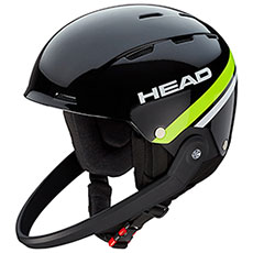 Шлем для сноуборда Head Team Sl + Chinguard Black/Lime