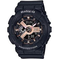 Электронные часы женские Casio G-Shock Baby-g Ba-110rg-1aer Black