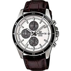 Кварцевые часы Casio Edifice Efr-526l-7a Grey/brown
