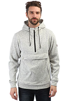 Толстовка кенгуру Billabong Boundary Pull Over Grey Heather