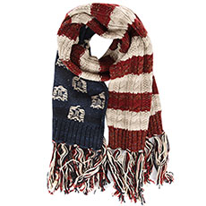 Шарф женский SuperDry Sport Americana Cable Scarf