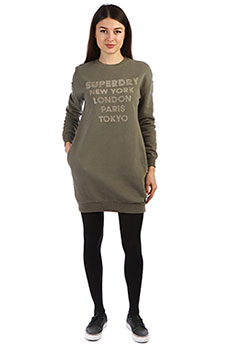 Платье женское SuperDry Sport Embellished Sweat