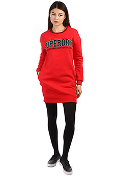 Платье женское SuperDry Sport Urban Street Sweat
