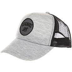 "Бейсболка с сеткой Slackers ""round Logo"" Gray"