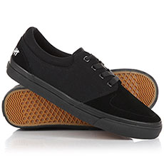 Мужские кеды низкие Slackers Detroit Black/Black