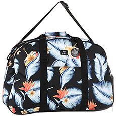 Сумка спортивная Roxy Feel Happy Bg Anthracite Tropical