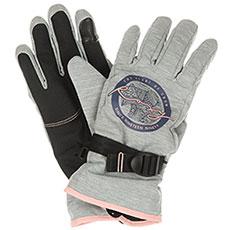 Варежки сноубордические женские Roxy Frefield Gloves Warm Heather Grey