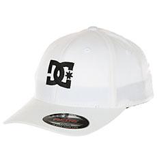 Бейсболка классическая DC Cap Star 2 White/Black