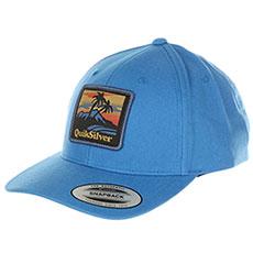 Бейсболка классическая QUIKSILVER Starkness Bijou Blue