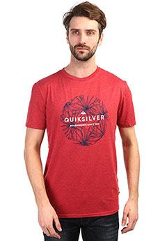 Футболка QUIKSILVER Classicbobss Brick Red Heather