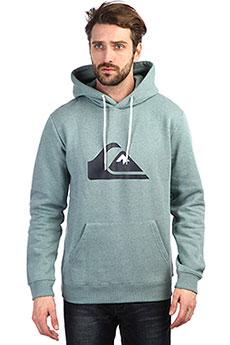 Толстовка кенгуру QUIKSILVER Big Logo Hood Stormy Sea Heather