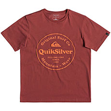 Футболка QUIKSILVER Secretingssyth Brick Red