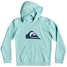Толстовка кенгуру QUIKSILVER Big Logo Hyouth Aqua Splash