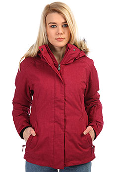 Куртка женская Roxy Jet Ski Solid Beet Red