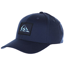 Бейсболка классическая QUIKSILVER Glitch Snapback Navy Blazer