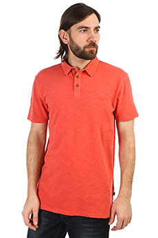 Поло QUIKSILVER Everydaysuncr Orange Rust